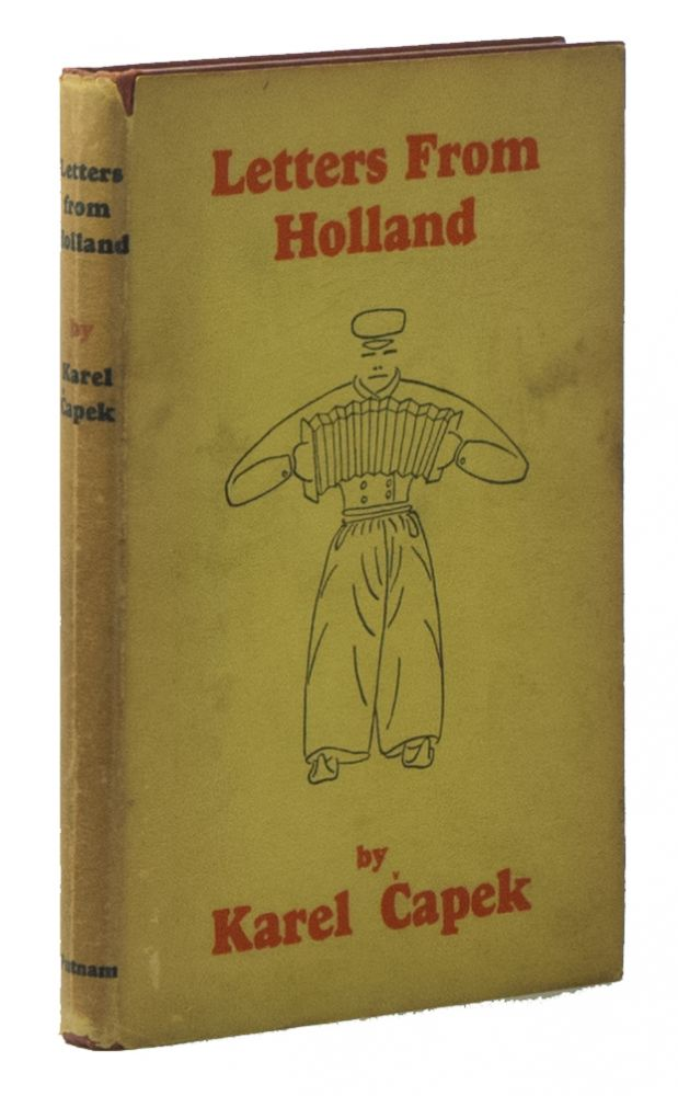 Letters from Holland. Karel CAPEK, Paul SELVER.