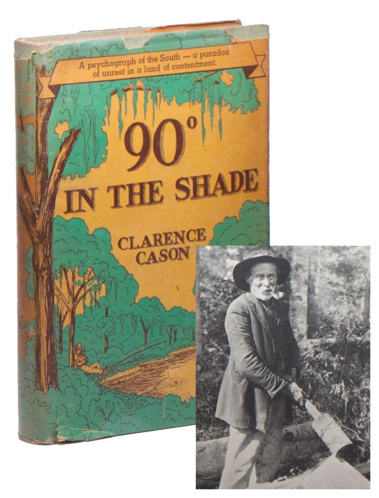 90° [degrees] in the Shade. Clarence CASON.