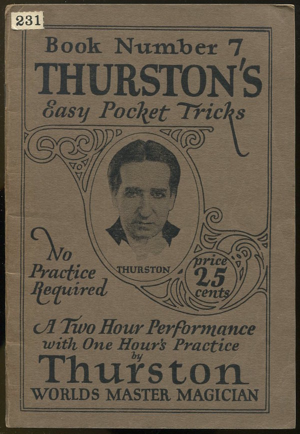 Thurston's Easy Pocket Tricks: The A-B-C of Magic (Book Number 7). Howard THURSTON.