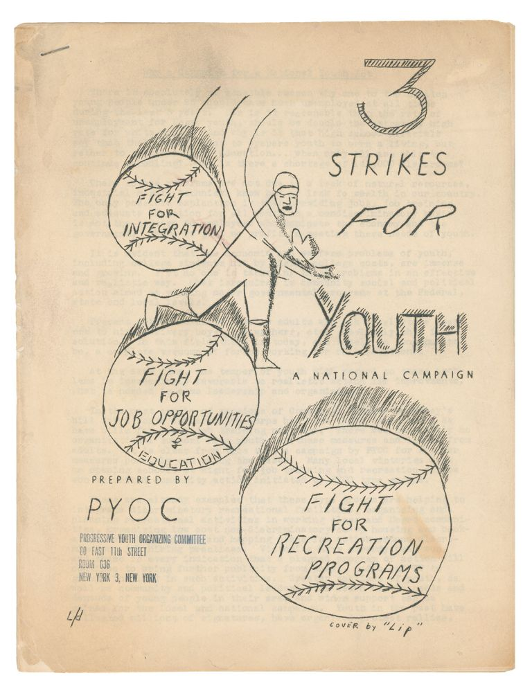 3 Strikes for Youth - A National Campaign. Progressive Youth Organizing Committee.