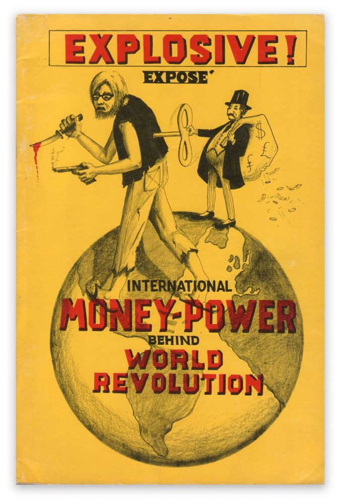 International Money Power Behind World Revolution. Wayne STORM.