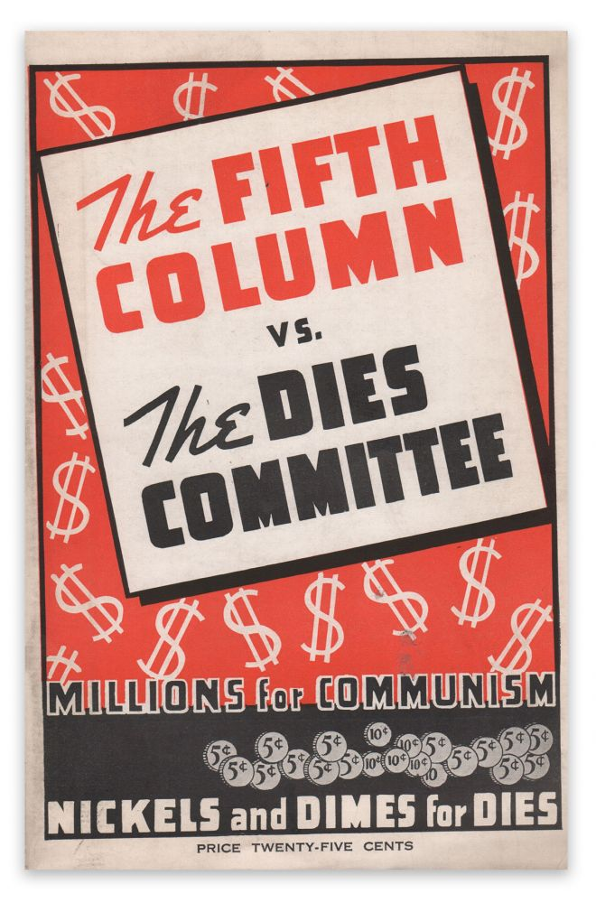 The Fifth Column vs. The Dies Committee. Joseph P. KAMP.