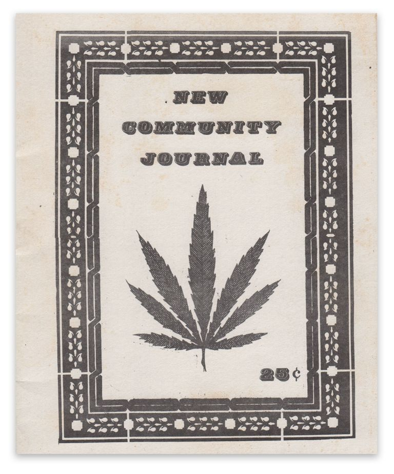 New Community Journal. Anarcho-Media Collective.