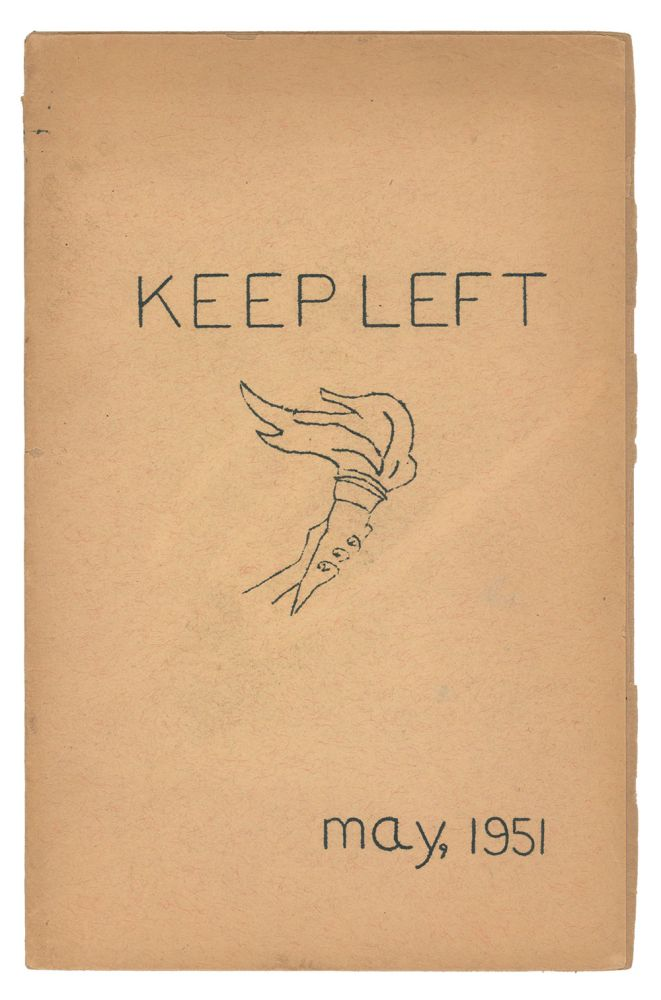 Keep Left, Vol. 1, No. 1, May 1951. Editorial Staff.
