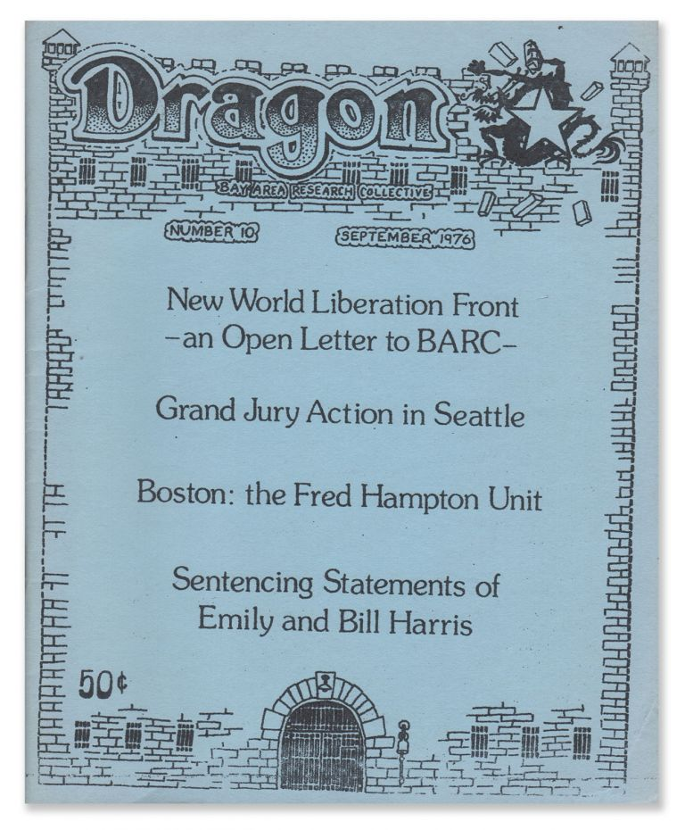 Dragon, No. 10 [final issue]. Bay Area Research Collective.