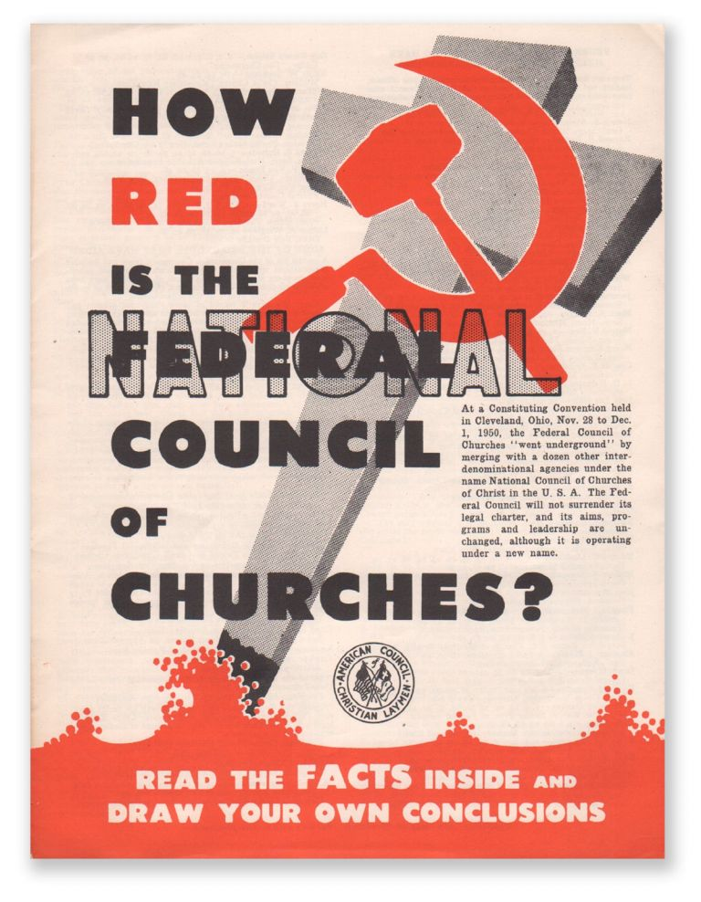 How Red Is the Federal [National] Council of Churches? American Council of Christian Laymen.