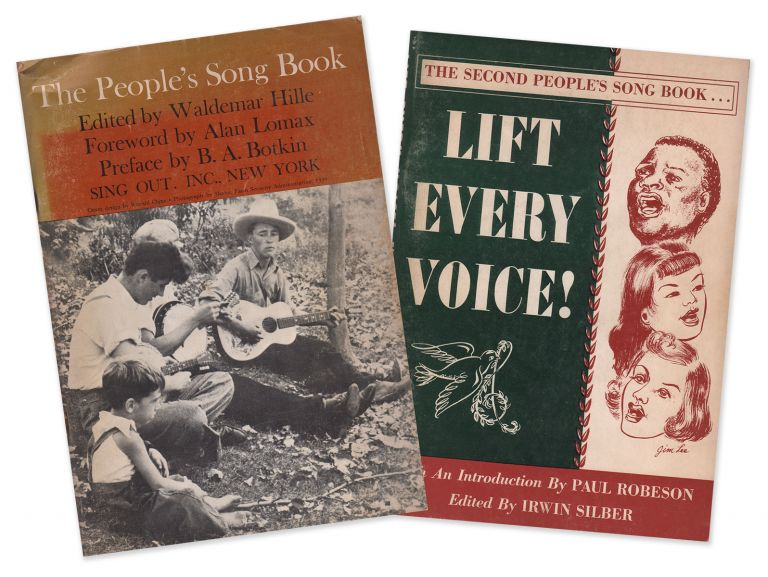 The People's Song Book [with] The Second People's Song Book: Lift Every Voice! Waldemar HILLE, Irwin SILBER.