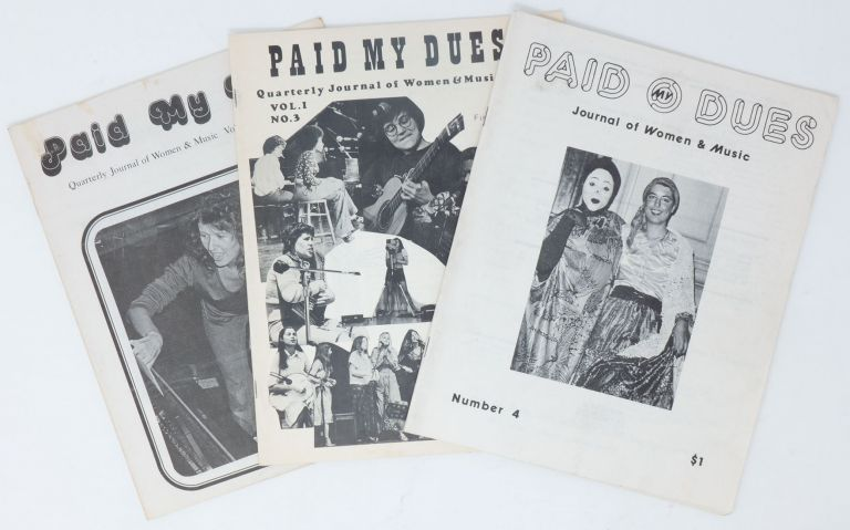 Paid My Dues, Vol. 1, Nos. 2-4