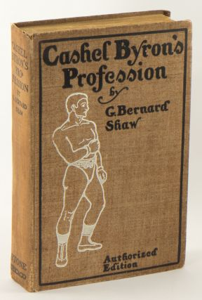 CASHEL BYRON'S PROFESSION, Newly Revised, With Several Prefaces and An Essay on Prizefighting;...