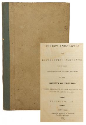 Select Anecdotes and Instructive Incidents Taken from Publications of Several Members of the...