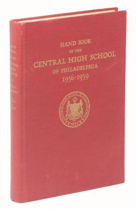 Hand Book of the Central High School of Philadelphia, 1956-1959