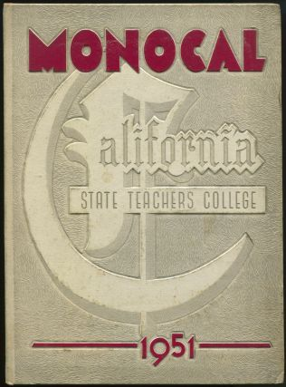 Monocal, 1951 [The State Teachers College]. The State Teachers College, Mr. Joseph W. GAY.