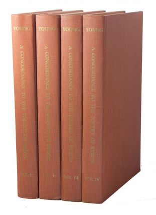 A Concordance to the Poetry of Byron [4 VOLS.]. Ione Dodson YOUNG.