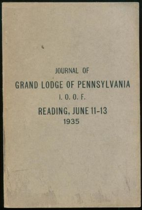 Journal of Proceedings of the One Hundred and Twelfth Annual Session of the Grand Lodge of...