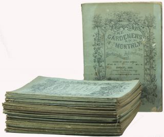 The Gardener's Monthly and Horticultural Advertiser [Complete Run of Vols. 2-4, 36 Issues, Jan. 1860 - Dec. 1862]