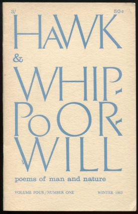 Hawk & Whippoorwill, Vol. 4, No. 1, Winter, 1963. August DERLETH.