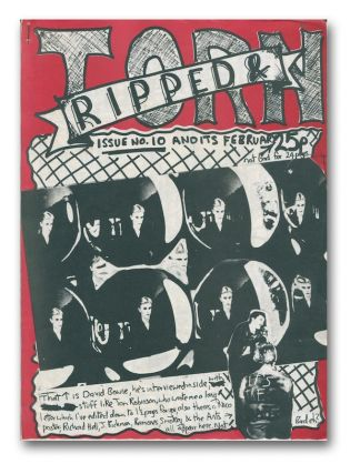 Ripped & Torn, No. 10, February 1978. Tony D