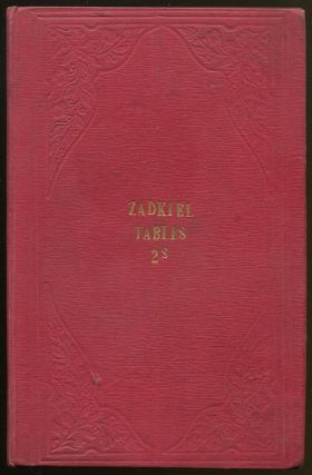 Tables to be Used in Calculating Nativities; Comprising Tables of Declination, Right Ascension, Ascensional Difference, and Polar Elevation; Also, Tables of Houses for London and Liverpool. ZADKIEL, pseud. of Richard James MORRISON.