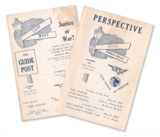 The Guide Post, Vol. 1, No. 1, October 1956 [with] Perspective, Vol. 1, No. 2 [first two issues]....