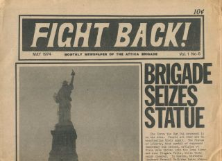 Fight Back!, Vol. 1, No. 6, May 1974. Attica Brigade.