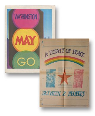 Washington May Go [cover title]. Red Engine Collective