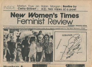 New Women's Times Feminist Review, Vol. IX, No. 29, Sept./Oct. 1983. Feminist Review Collective