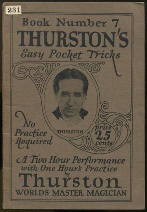 Thurston's Easy Pocket Tricks: The A-B-C of Magic (Book Number 7