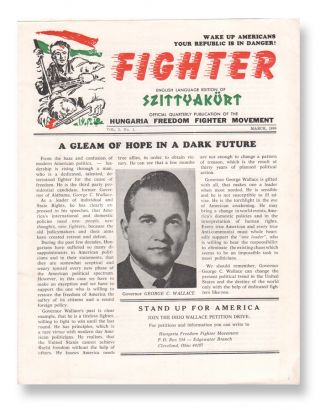 Fighter, Vol. 1, No. 1. Hungaria Freedom Fighter Movement.