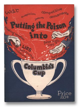 Putting the Poison into Columbia's Cup (The Antidote Library No. 1). Winfred C. HOWE