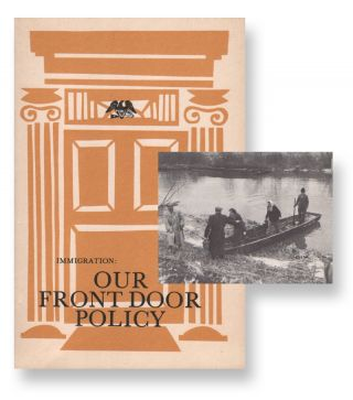 Immigration: Our Front Door Policy. Milton M. LORY, The American Coalition of Patriotic Societies
