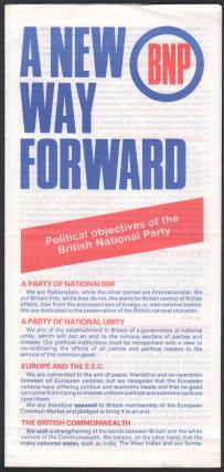 A New Way Forward. British National Party