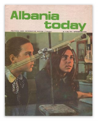 Albania Today: Political and Informative Review, Nr. 5 (24), September-October, 1975