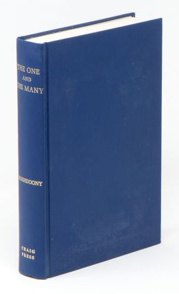 The One and the Many: Studies in the Philosophy of Order and Ultimacy. Rousas John RUSHDOONY.