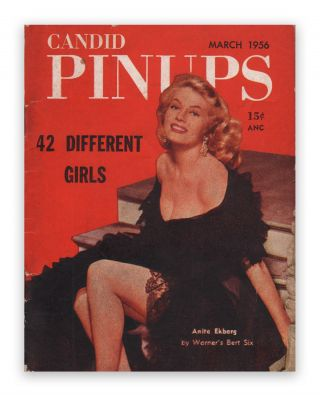 Candid Pinups, Vol. 1, No. 1. Chester WHITEHORN