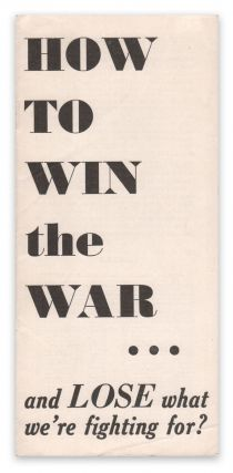 How to Win the War...and Lose What We're Fighting For? Joseph P. KAMP