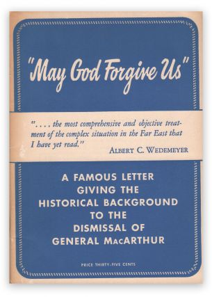 May God Forgive Us. Robert H. W. WELCH Jr