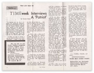 TIMEweek Interviews a 'Patriot'. Vincent BARBA, National Renaissance Party