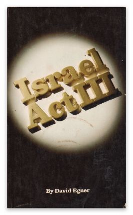 Israel Act III. David EGNER.