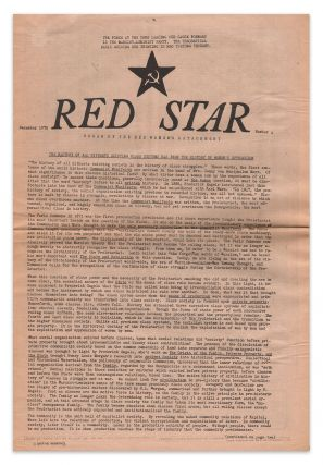 Red Star, Number 4, December, 1970. Red Women's Detachment.