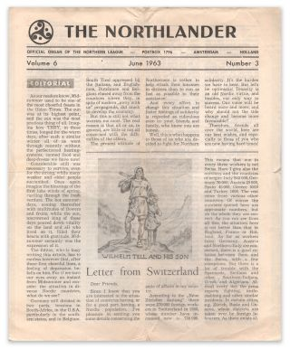 The Northlander: A Cultural, Non-Political Journal Devoted to Pan-Nordic Friendship, Vol. 6, No. 3, June 1963