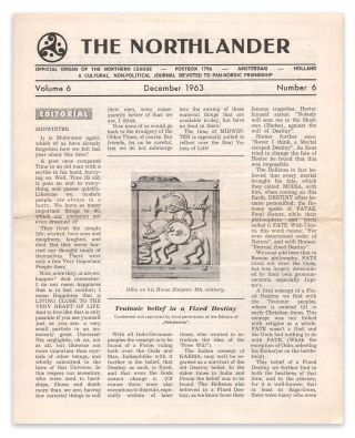 The Northlander: A Cultural, Non-Political Journal Devoted to Pan-Nordic Friendship, Vol. 6, No. 6, December 1963