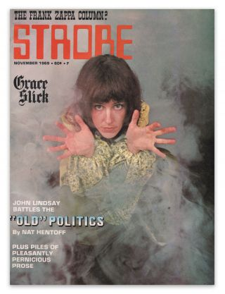 Strobe, Vol. 1, No. 3, November, 1969. Norman SCHREIBER, Nat HENTOFF, contributor