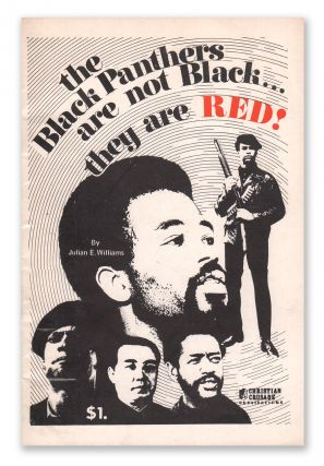 The Black Panthers Are Not Black...They Are Red! Julian E. WILLIAMS.