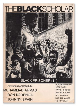 The Black Scholar, Vol. 4, No. 2, October, 1972. Robert CHRISMAN, Ron KARENGA, Muhammad AHMAD,...