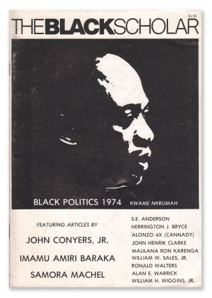 The Black Scholar, Vol. 6, No. 2, October, 1974. Robert CHRISMAN, John Henrik CLARKE, Maulana Ron...