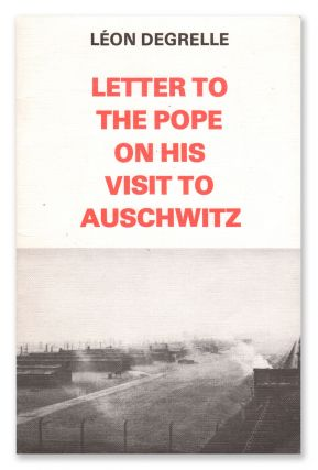 Letter to the Pope on His Visit to Auschwitz
