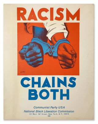 Racism Chains Both. Hugo GELLERT, artist