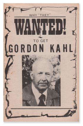 "Why ""They"" WANTED! To Get Gordon Kahl. Leonard MARTIN"