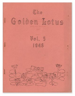The Golden Lotus, Vol. 5, No. 5, 1948. William J. LESLIE