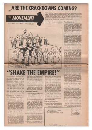 The Movement, Vol. 3, No. 12, December, 1967. Editorial Group